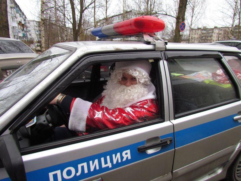 Высокая Дед мороз и сани иУсилители в
