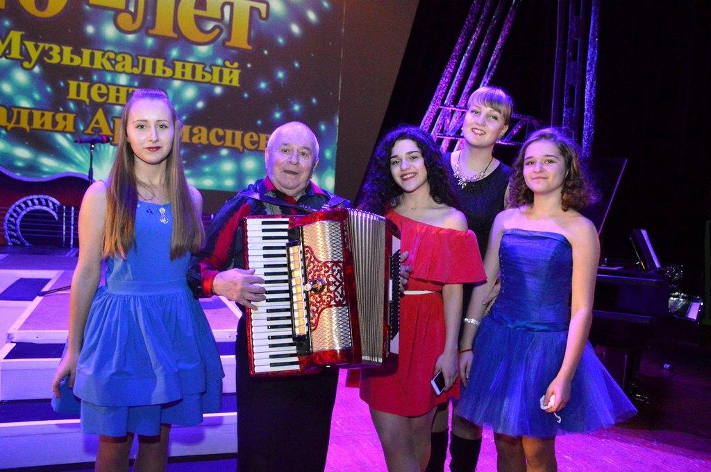 """Обнинский """"Музыкальный центр"""" отметил 40-летие"""