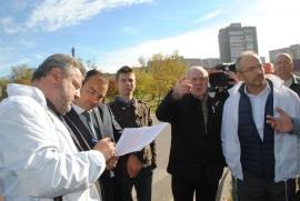 В Калуге «Народный фронт» провел инспекцию самых опасных участков концентрации ДТП