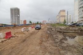 В Калуге активно идут работы по ремонту Шопинской дороги