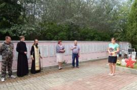 На территории Козельского и Ульяновского районов прошел автопробег по местам воинских захоронений