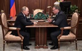 Владимир Путин назначил Александра Буркова врио губернатора Омской области