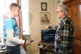 Волонтеры помогут калужанам настроить цифровое ТВ