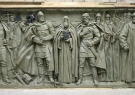 Барельефы о Великом стоянии на Угре разместят на главном храме Вооружённых Сил РФ