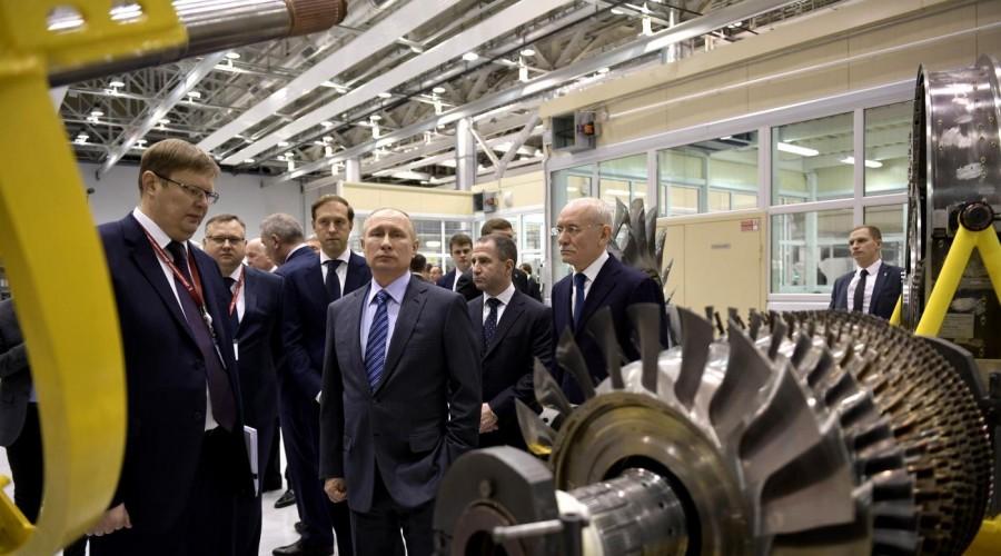Президент РФ Владимир Путин посетил вУфе ОДК-УМПО