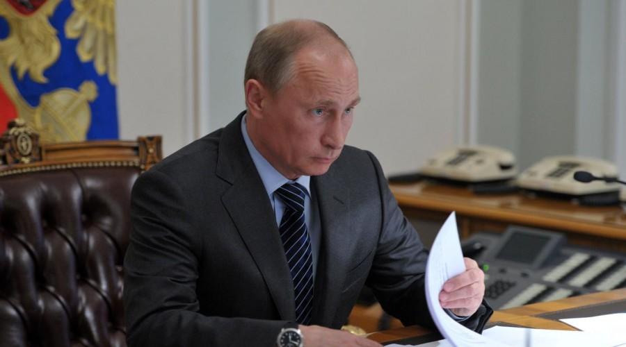 Путин подписал указ онаграждении неменее 250 человек госнаградами