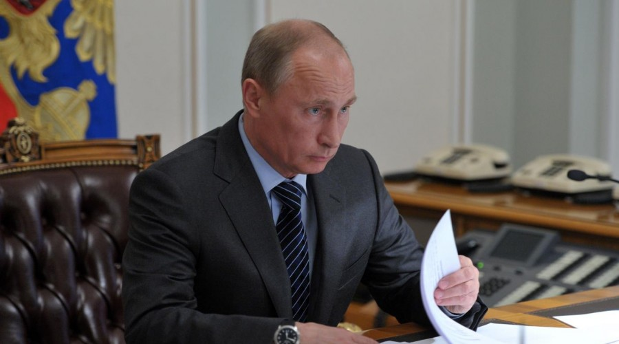 Путин поздравил граждан Курганской области с75-летием ееобразования