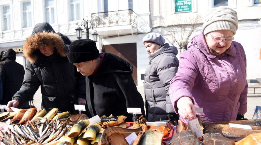 Рыбный фестиваль откроется сегодня вКалуге