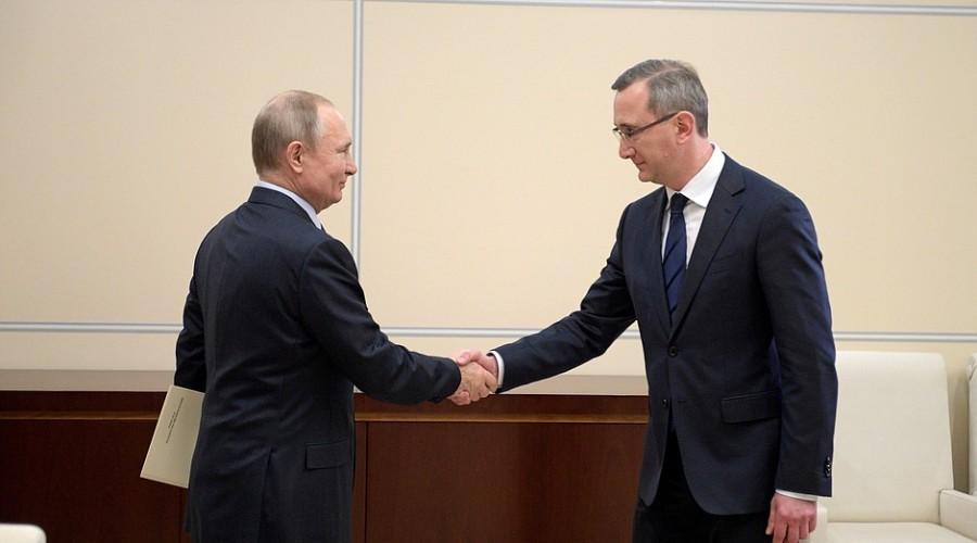 Владислав Шапша назначен врио губернатора Калужской области